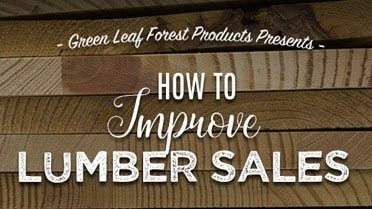How To Improve Lumber Sales